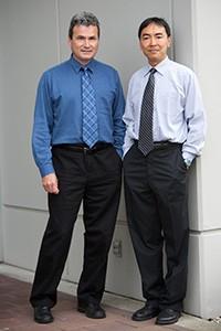 Dr. Roger Gonclaves and Dr. George Ho