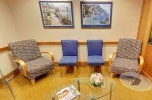 Harbourside Dental Waiting Area