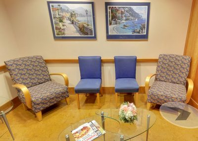Harbourside Dental Waiting Area